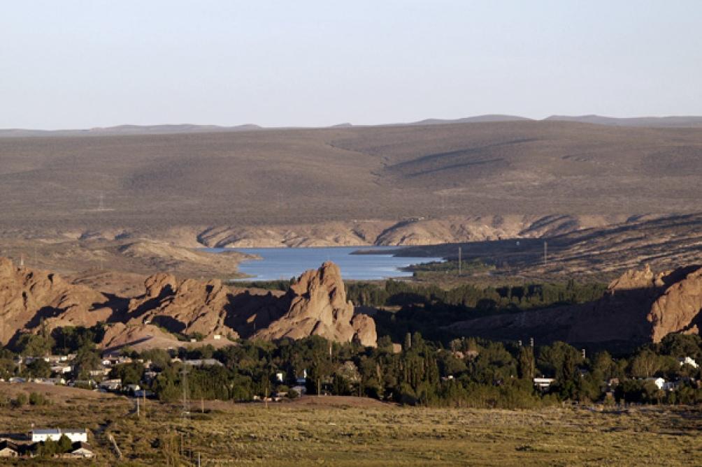 Vialidad Nacional desarrolla esta primera experiencia en la zona de Piedra del Águila .