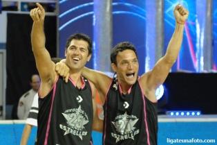 Juan Espil y Bruno Lábaque, los ganadores en el torneo de triples