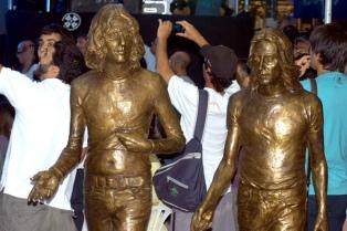 Charly García y Nito Mestre fueron homenajeados en Mar del Plata