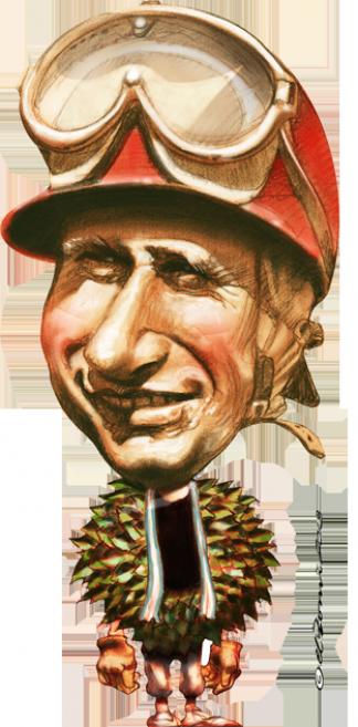"""""""Fue muy superior a nosotros, no creo que sea justo compararnos con Fangio"""" (Michael Schumacher)"""