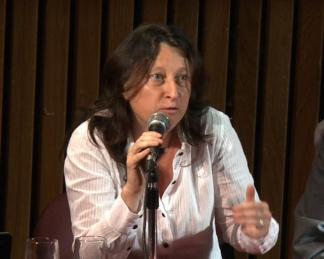 Paula Litvachky dio una conferencia sobre la apertura de la AFI