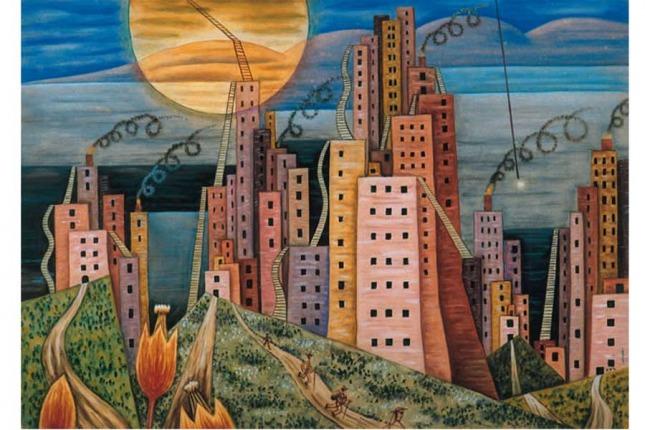 Obras De Xul Solar El Perro Morao