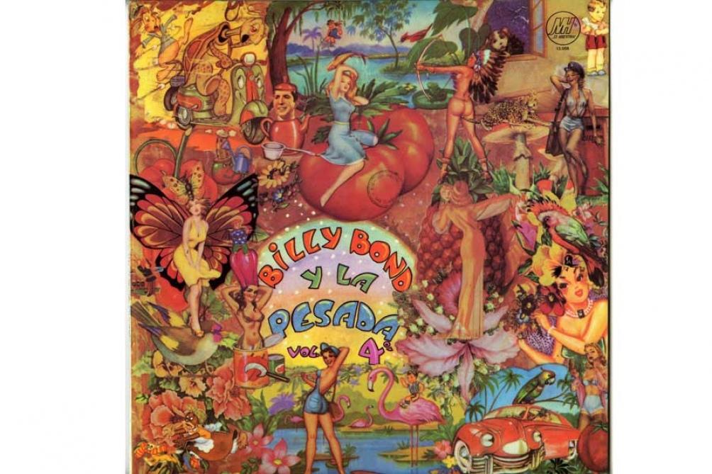 Billy Bond y la Pesada,  grupo creado -no muchos lo saben- por el también editor Jorge Álvarez, fundador del sello Mandioca: un distinto, un visionario.