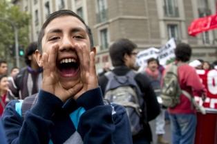 Los estudiantes mantendrán la toma de la casa central de la Universidad de Chile de manera indefinida