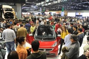 Se inauguró el Sexto Salón del Automóvil y destacan el buen momento que atraviesa el sector