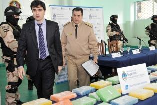 Incautaron unos 132 kilos de cocaína en el puerto de Buenos Aires