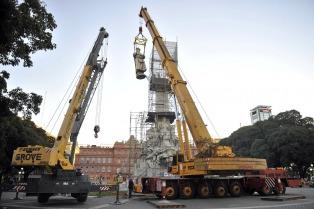 El monumento a Cristóbal Colón estará emplazado frente al Aeroparque