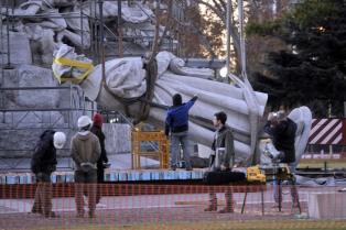 Promulgan la ley que ratifica el acuerdo entre Nación y Ciudad para trasladar el monumento a Colón