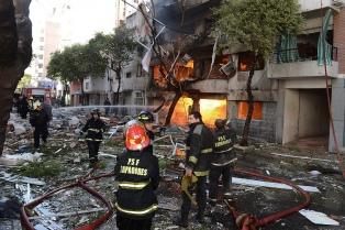 Familiares de las víctimas de la explosión, indignados por el fallo