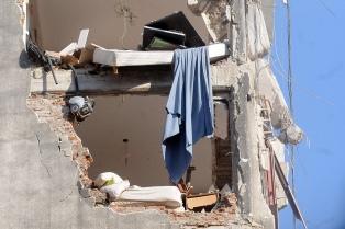 """Piden que """"no se borre de la memoria"""" a las 22 víctimas de la explosión en un edificio"""