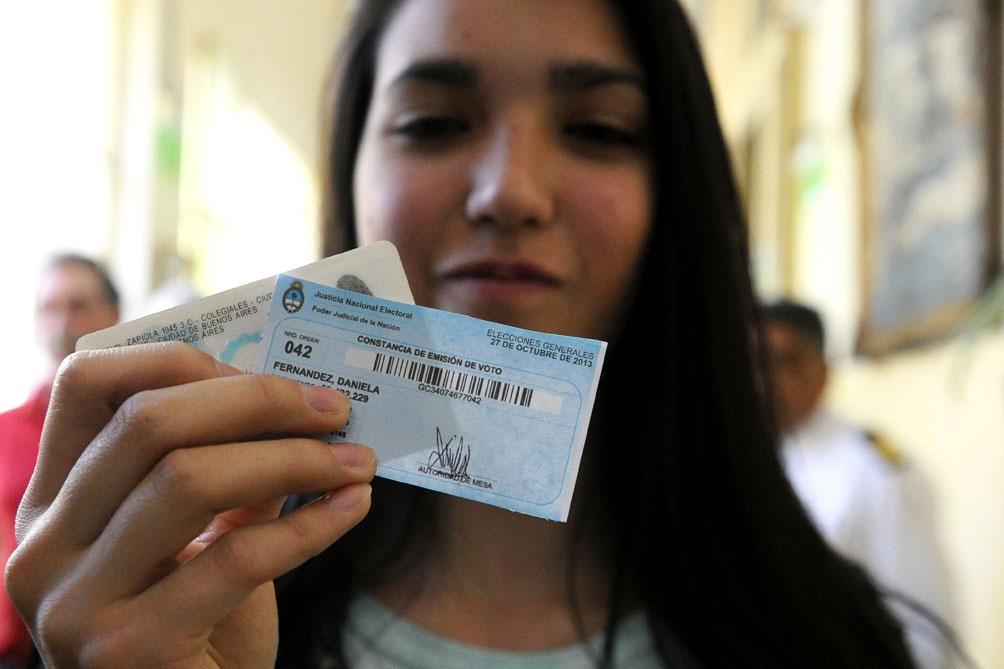 La campaña encarada por el Renaper permitió que 540.712 jóvenes quedaran en condiciones de ser incorporados al padrón electoral para votar este año.