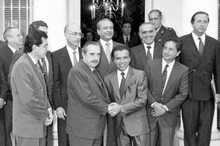 Se cumplen 20 años del Pacto de Olivos que permitió la reforma constitucional del '94