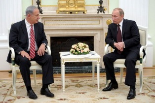 Putin y Netanyahu discuten en Moscú sobre la guerra en Siria