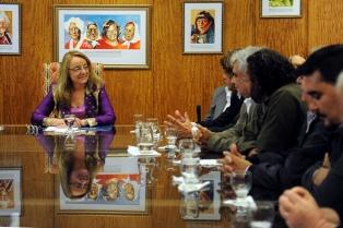 Empresarios Pymes se reunieron con Alicia Kirchner