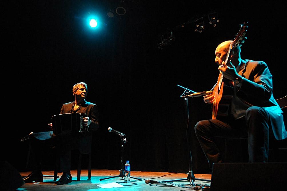 Pablo Mainetti y César Angeleri y el orgullo de tocar a Ástor.
