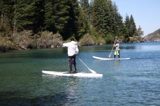 En Bariloche, la aventura también se puede vivir desde el agua