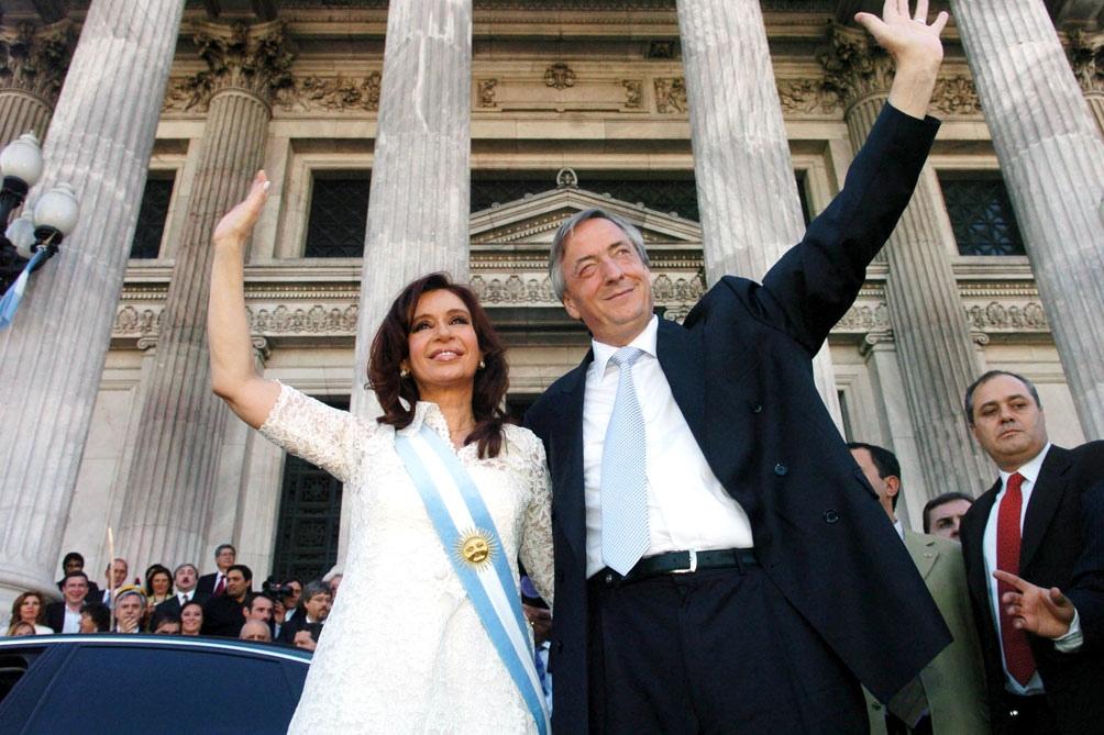 """Cristina recordó a Néstor Kirchner como un """"soplo vital"""", a 70 años de su  nacimiento - Télam - Agencia Nacional de Noticias"""
