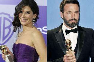 Sandra Bullock y Ben Affleck entregarán los Golden Globe