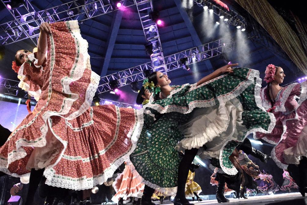 La danza y los ballets folclóricos, otro de los puntos altos del festival.