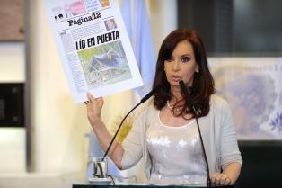 Cristina: �Una sociedad que se desentiende de sus mayores y sus hijos, no tiene memoria ni futuro�