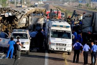 Sancionaron a cuatro policías más por el accidente en la ruta 7