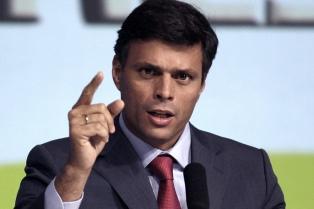 """López insistió en que Venezuela necesita un Gobierno de transición y llamó """"asesino"""" a Maduro"""