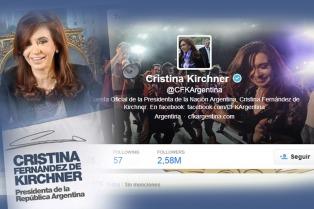 Cristina: �Creemos en un mundo en el que los países no tengan doble estándar, en que podamos adoptar resoluciones justas�