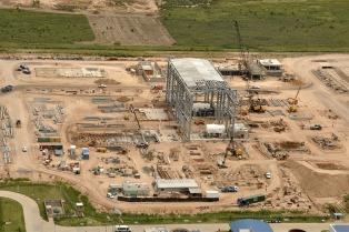 La central Termoeléctrica Vuelta de Obligado aportará 540 Mw adicionales desde junio