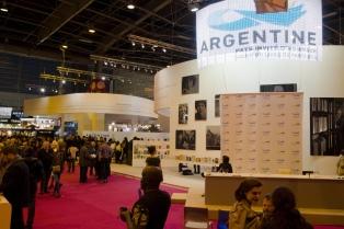 El público francés arrasó en el pabellón argentino