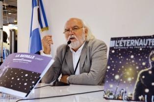 """Publican por primera vez en francés """"El eternauta"""""""