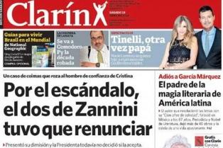 Liuzzi niega haber presentado su renuncia y denuncia una campaña persecutoria de Clarín
