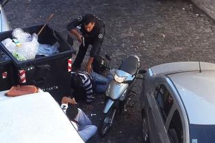 """Durante enero, detuvieron a 20 """"motochorros"""" en la Capital Federal"""