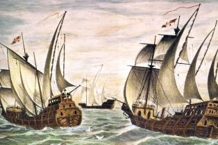 Afirman haber hallado la carabela Santa María de Cristóbal Colón al norte de la costa de Haití