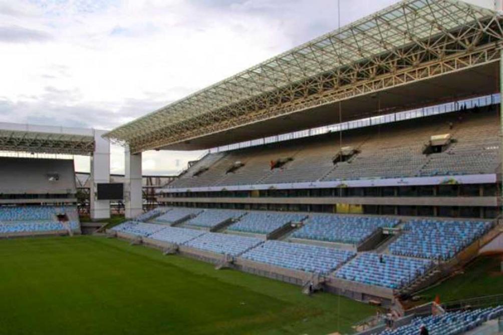 El Arena Pantanal de Cuiabá, una de las sedes de la Copa
