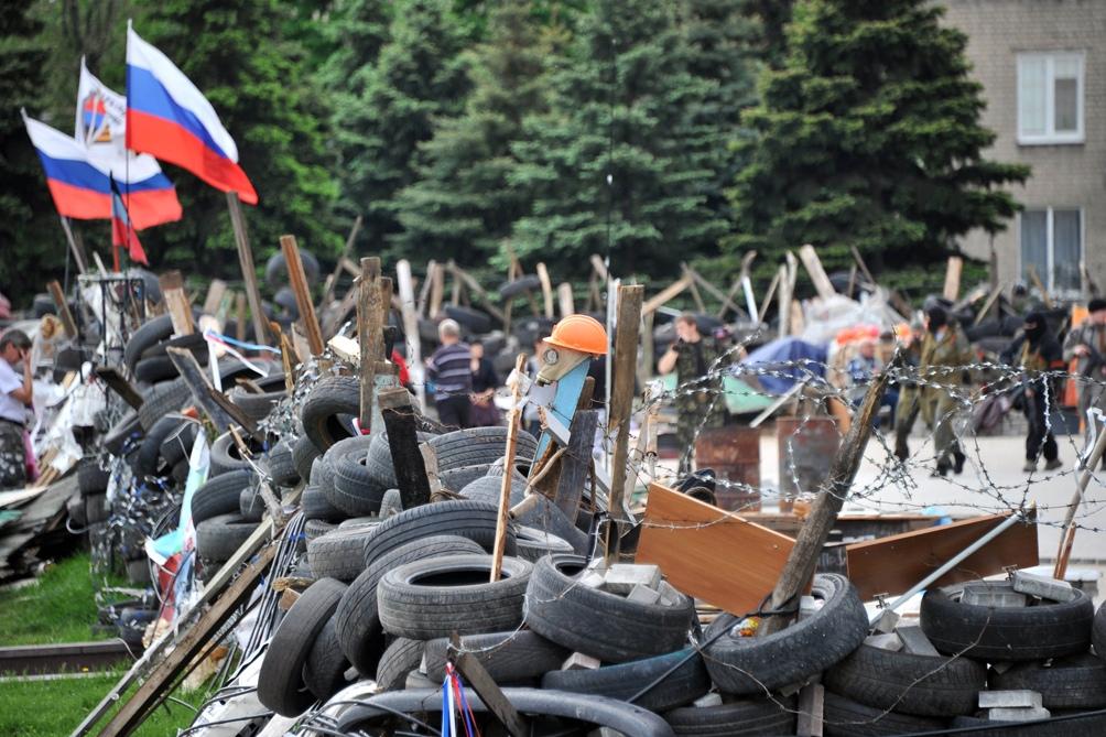Milicias prorrusas controlan buena parte de dos regiones que Ucrania reclama desde 2014