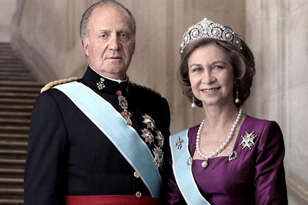 Juan Carlos y Sofía, en tiempos felices para los reyes,