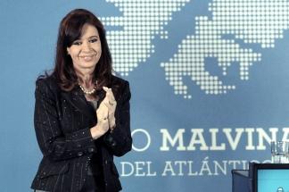 Cristina Fernández homenajeó a los caídos en Malvinas.