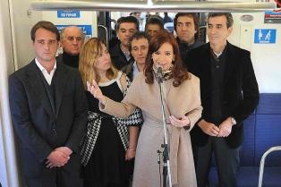 Reinauguraron dos estaciones ferroviarias en Pilar y Luján que extienden la línea San Martín