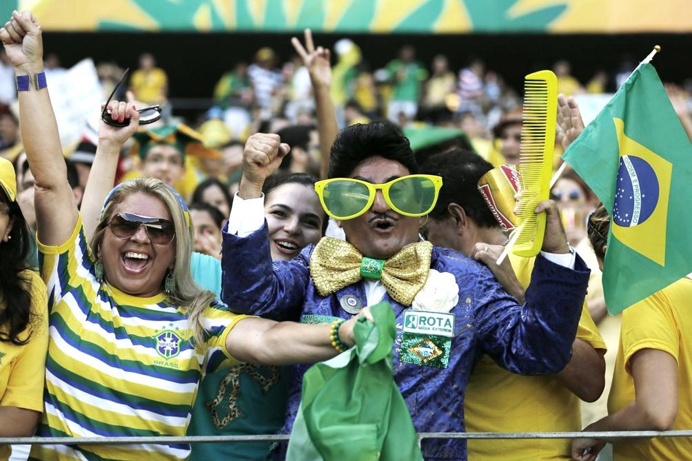 Brasil habilitó un partido de fútbol con público por primera vez desde la pandemia