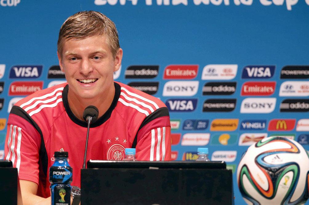Para el alemán Kroos, la salida de Messi de Barcelona es una ventaja para el Real Madrid