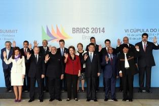 """Cristina, ante el Brics, pidió """"la instauración de un orden financiero global que permita el desarrollo"""""""