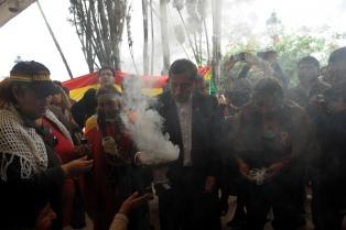 La Pachamama fue honrada en el Cabildo de Buenos Aires