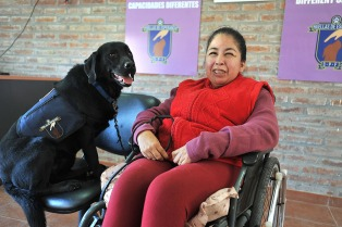 Internos de cárceles argentinas entrenan perros de asistencia para personas con discapacidad