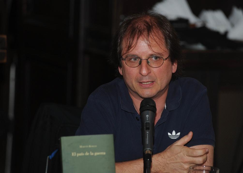 Martín Kohan, uno de las autores de la agencia Schavelzon-Graham.