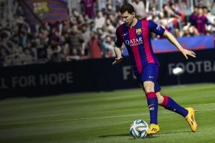Presentaron el FIFA 15 en Argentina