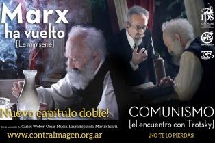 """Nuevo episodio de la serie de internet """"Marx ha vuelto"""" con la aparición de Trotsky"""