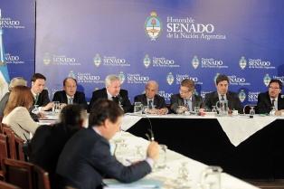 Avanza en el Senado el debate de la reforma del Código Procesal Penal