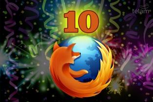 Firefox cumplió 10 años