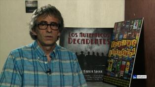 Jorge Serrano: uno de los cerebros de esa usina de hits llamada Los Auténticos Decadentes