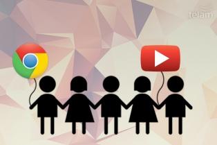 Google prepara versiones para niños de Chrome y de Youtube